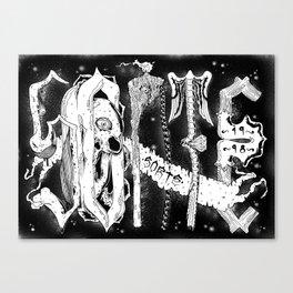 Sorte Santeria Canvas Print