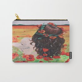 Poppies's girl Carry-All Pouch