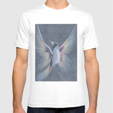 Spirit MEDIUM Mens Fitted Tee White