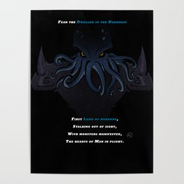 Dweller in the Darkness (7 Lords of Fear) Poster