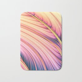 Strands of Dawn. Colorful Abstract Bath Mat