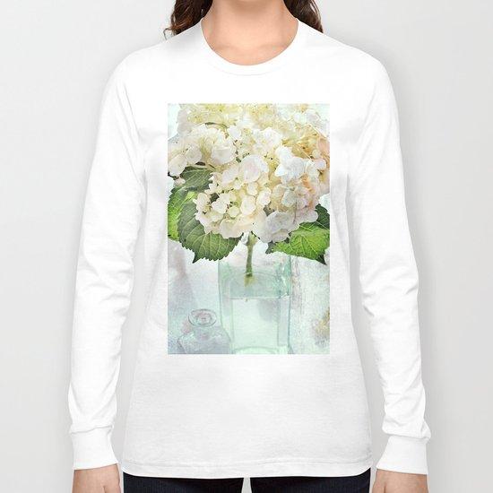 Whitish Long Sleeve T-shirt