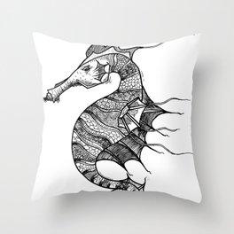 Sea Horsie! Throw Pillow