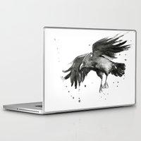 raven Laptop & iPad Skins featuring Raven by Olechka