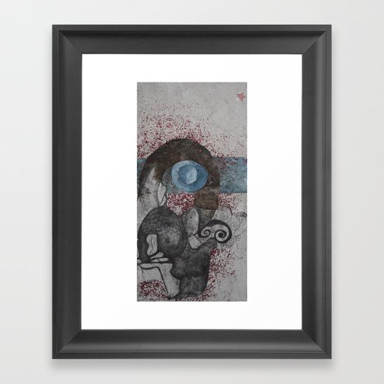 genesis Framed Art Print