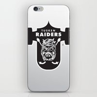nfl iPhone & iPod Skins featuring Tusken Raiders - NFL by Steven Klock