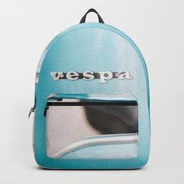 Blue Vespa Backpack