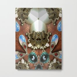 Double Think Metal Print