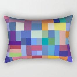 Rainbow Mosaic Rectangular Pillow