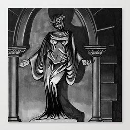 Dark Zodiac: Virgo Canvas Print
