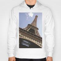 eiffel tower Hoodies featuring Eiffel Tower by caroline