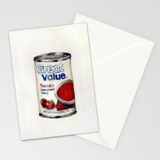 Great Value Tomato Soup Stationery Cards