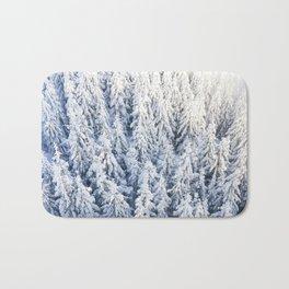 Trees & Snow Bath Mat