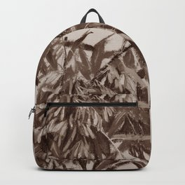 Ash-tree, sepia Backpack