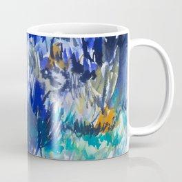Watercolor wetland landscape Coffee Mug