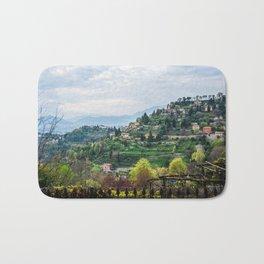 Northern Italy Landscape Bath Mat