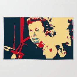 In Elon We Trust Rug