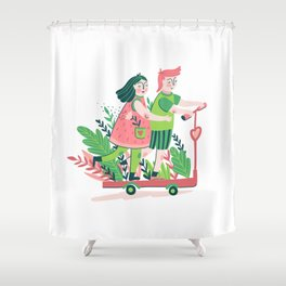 To the fools who dream! Shower Curtain