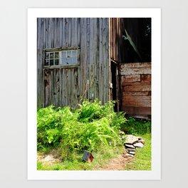Barn, Upstate NY Art Print