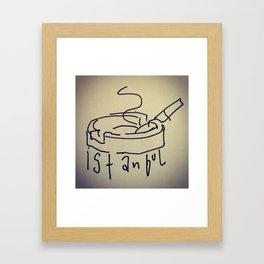CIGAR Framed Art Print