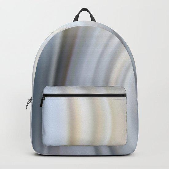 Abstract modern wavy background, elegant wave illustration Backpack