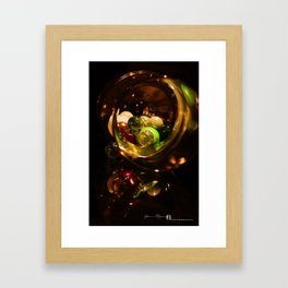 Losing Your Marbles Framed Art Print