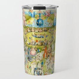The Garden of Earthly Delights by Bosch Travel Mug
