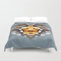 sheep Duvet Covers featuring SHEEP by Sky-blitz