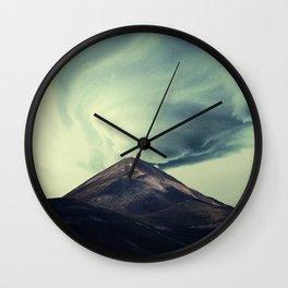 A Brewing Storm Wall Clock