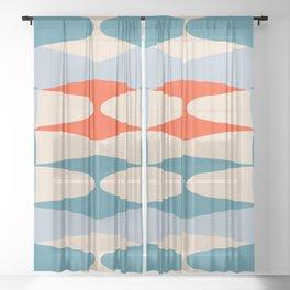 Zaha Marine Sheer Curtain