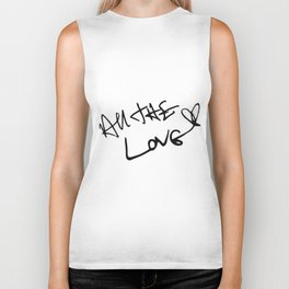 Harry Styles - All the Love Biker Tank