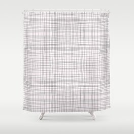 hip to be (not so) square Shower Curtain