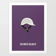 The White Helmets Minimalist Poster Art Print