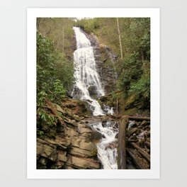 Cherokee Waterfall Art Print