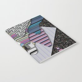 drippy black Notebook