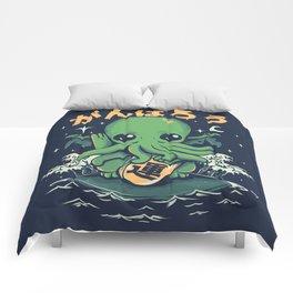 Good Luck Cthulhu Comforters
