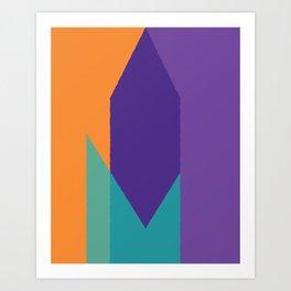 Cacho Shapes XCVIII Art Print