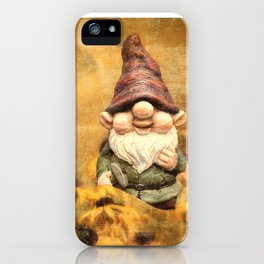 Gnomes in The Daisies iPhone Case