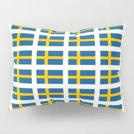 flag of sweden -  Swedish,Sverige,Swede,Stockholm,Scandinavia,viking,bergman, strindberg Pillow Sham