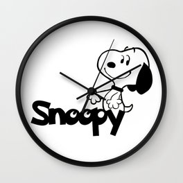 Snoopy for Kids Wall Clock