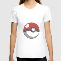 pokeball T-shirts featuring Pokeball ! by swiftstore