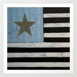 Star Flagger Art Print
