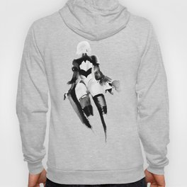 2B NieR Automata Beautiful back Hoody