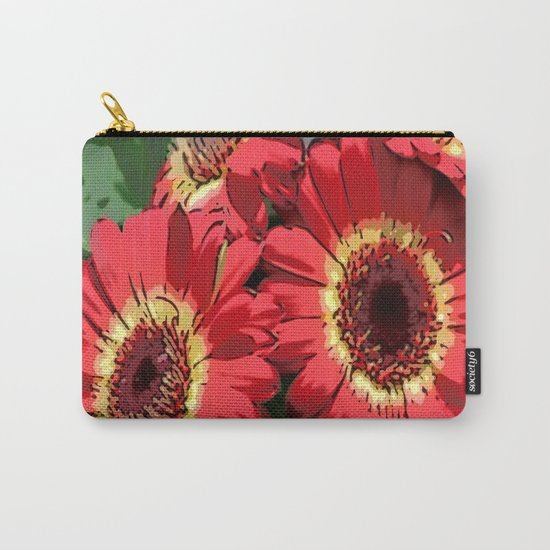 Floral Dreams Carry-All Pouch