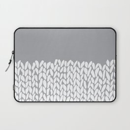 Half Knit Grey Laptop Sleeve