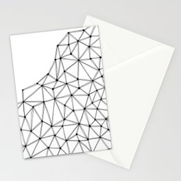 Polygon Stationery Cards
