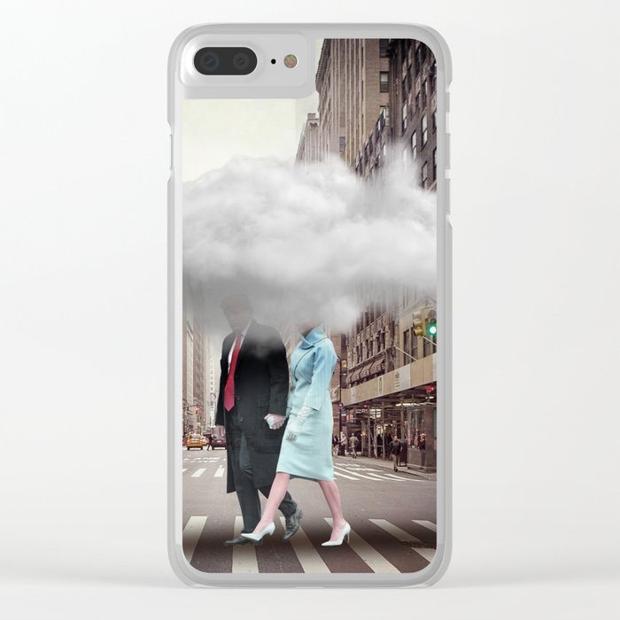 Under a Cloud Clear iPhone Case