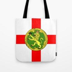 Alderney flag Tote Bag