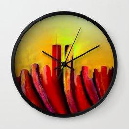 Twins - Marcello Cicchini Wall Clock