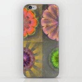 Aetiogenic Actuality Flower  ID:16165-013140-25800 iPhone Skin